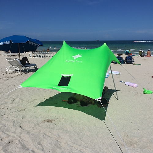 Lime Green Turtle Tent