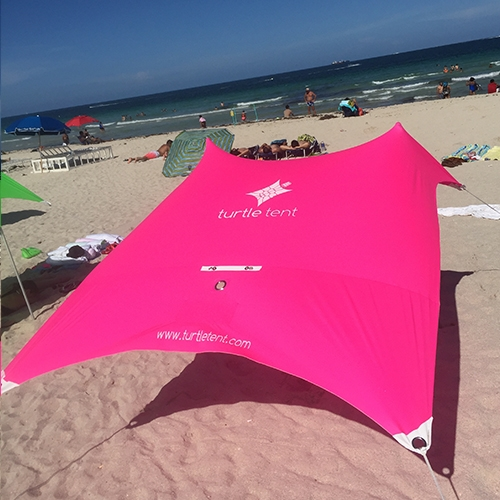 Pink Turtle Tent